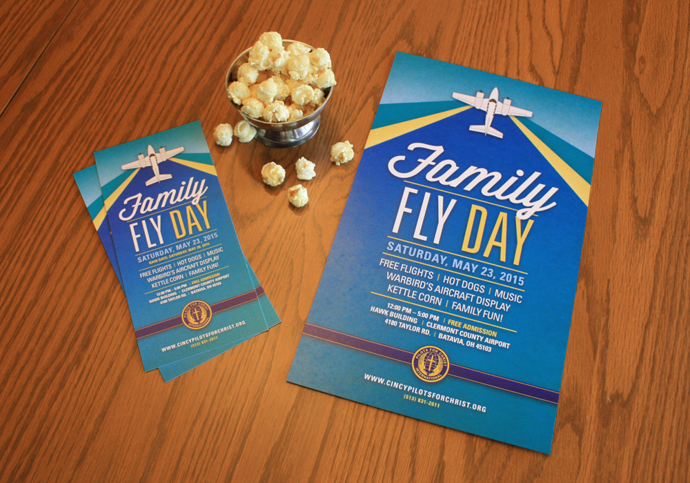 Family Fly Day Handout and Poster