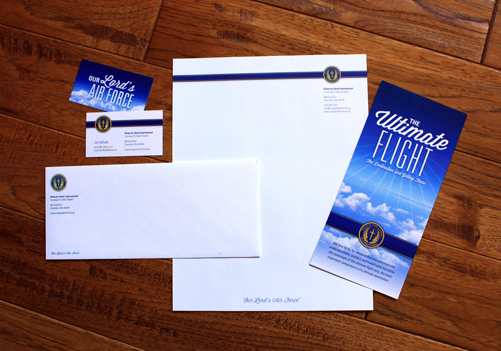 Stationery Set and Ultimate Flight Card