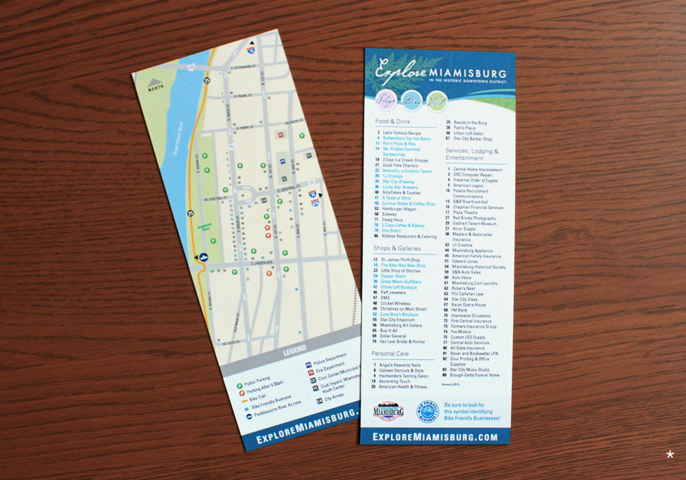 Downtown Directory card
